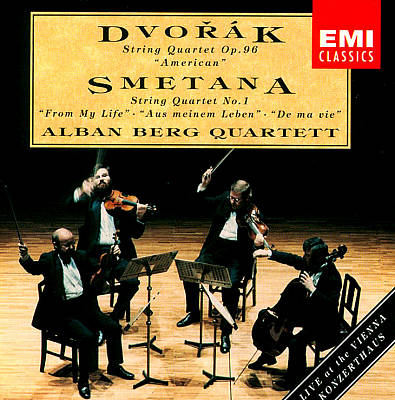 "Dvorák: String Quartet Op. 96 ""American""; Smetana: String Quartet no. 1 ""From My Life"""