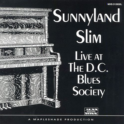 Live at the D.C. Blues Society