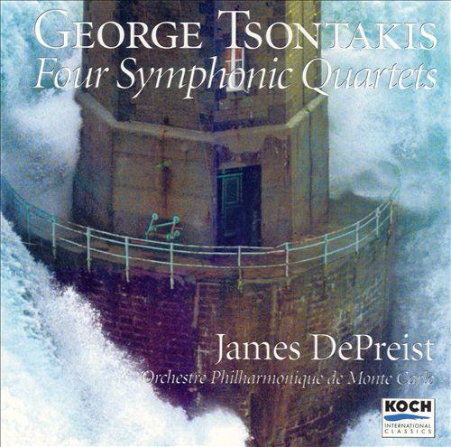 George Tsontakis: Four Symphonic Quartets