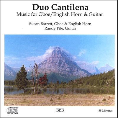 Music for Oboe/English Horn & Guitar