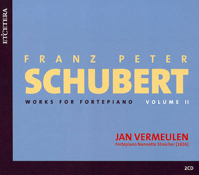 Schubert: Works for Fortepiano, Vol. 2