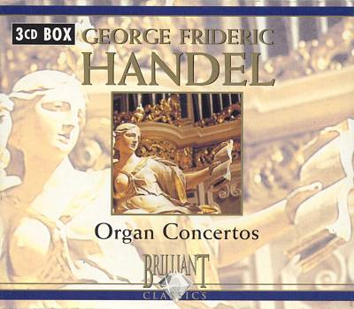 Handel: Organ Concertos (Box Set)