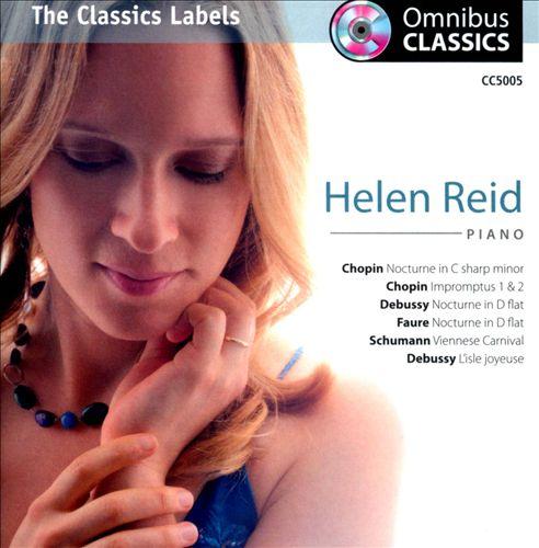 Chopin: Nocturne No. 20; Impromptus Nos. 1 & 2; Debussy: Nocturne; L'isle joyeu; Fauré: Nocturne No. 6; Schumann: Faschingsschwank aus Wien