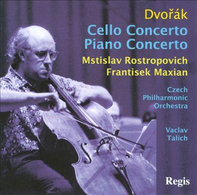 Dvorák: Piano & Cello Concertos