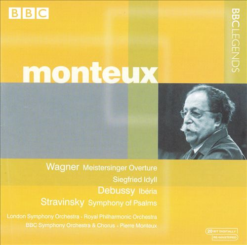 Monteux Conducts Wagner, Debussy Stravinsky, Falla