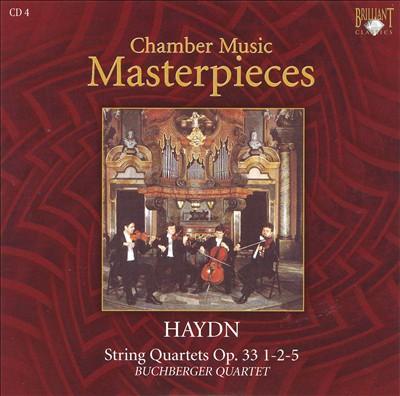 Haydn: String Quartets Op. 33 Nos. 1, 2, 5