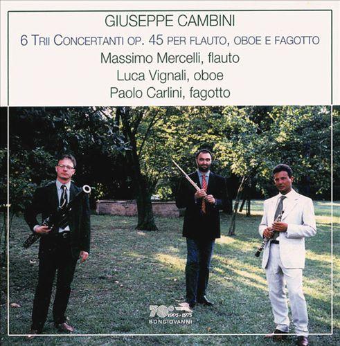 Giuseppe Cambini: 6 Trii Concertanti, Op. 45