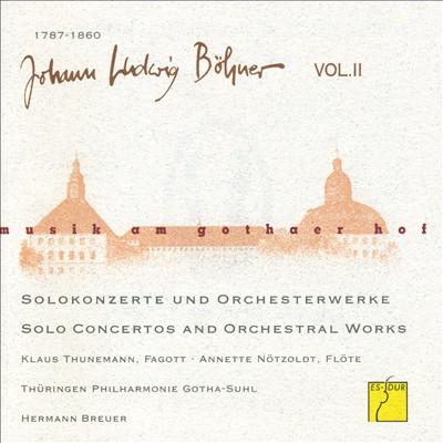 Musik am Gothaer Hof: Johann Ludwig Böhner, Vol. 2
