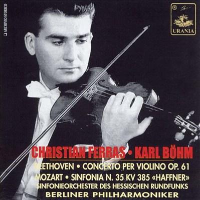 Beethoven/Mozart: Orchestral Works