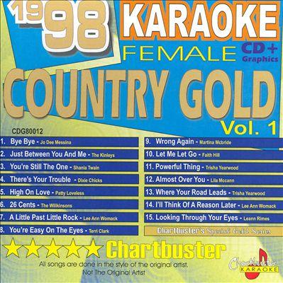 Chartbuster Karaoke: 1998 Female Country Gold, Vol. 1
