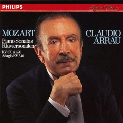 Mozart: Piano Sonatas KV 570 & 576; Adagio KV 540