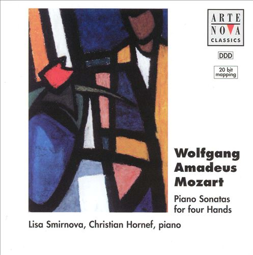 Mozart: Piano Sonata for 4 Hands