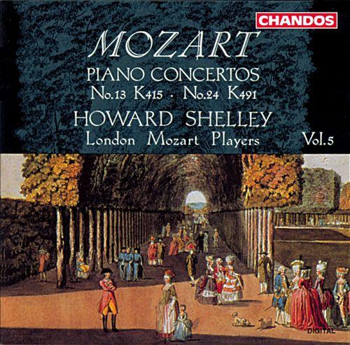 Mozart: Piano Concertos, Vol. 5 - Nos. 13 & 24