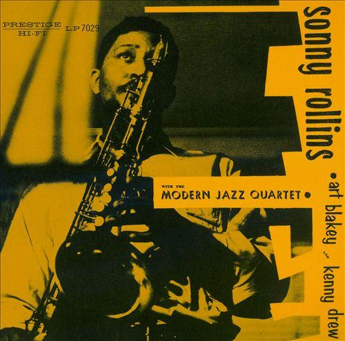 Sonny Rollins with the Modern Jazz Quartet
