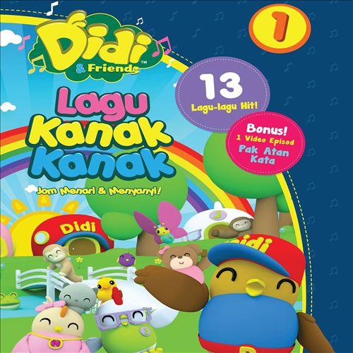 Didi & Friends Lagu Kanak-Kanak, Vol. 1