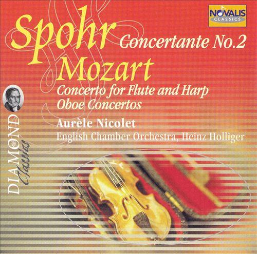 Spohr: Concertante No. 2; Mozart: Concerto for Flute and Harp; Oboe Concertos