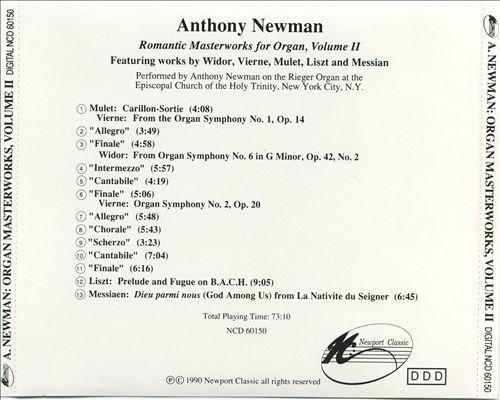 Romantic Masterworks for Organ, Vol. 2