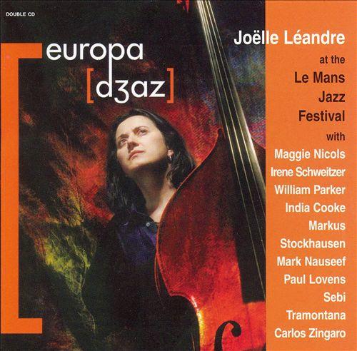 Joëlle Léandre at the LeMans Jazz Festival