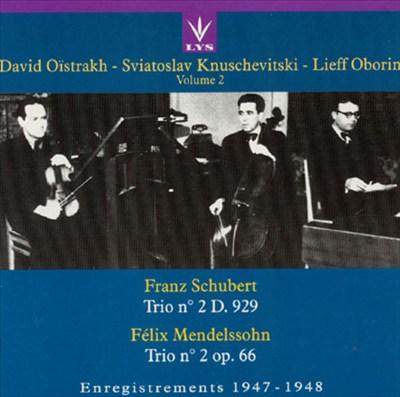 Trio Oïstrakh, Vol. 2