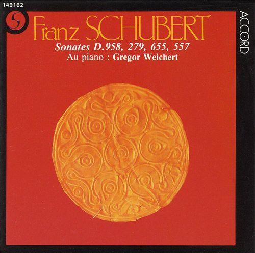 Schubert: Sonates D. 958, 279, 655, 557