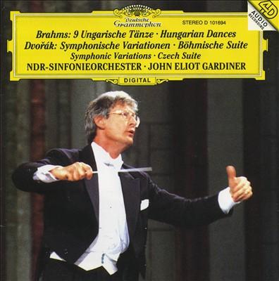 Brahms: Hungarian Dances; Dvorák: Symphonic Variations; Czech Suite