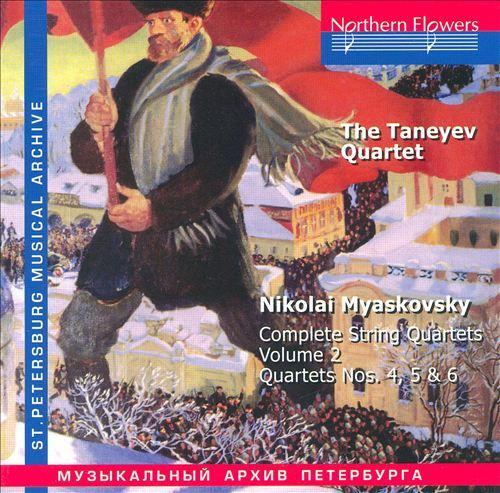 Myaskovsky: Complete String Quartets, Vol. 2
