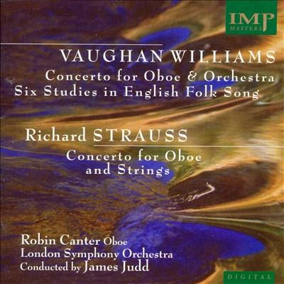 Vaughan Williams, Strauss: Oboe Concertos