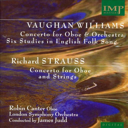 Vaughan Williams, Strauss: Oboe Concertos