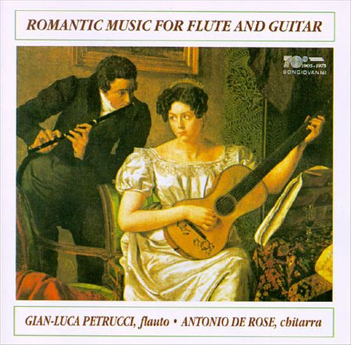 Romantic Music for Guitar and Flute