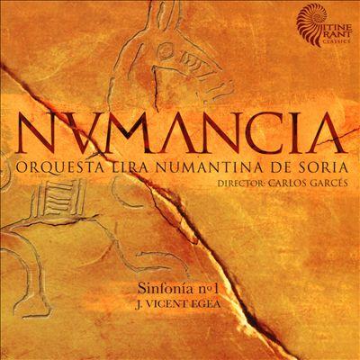 Numancia: Sinfonia No. 1, J. Vincent Egea