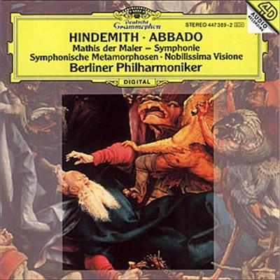 Hindemith: Mathis der Maler; Symphonie; Symphonische Metamorphosen; Nobilissima Visione [Australia]