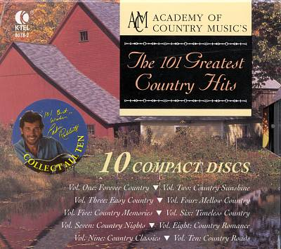 The 101 Greatest Country Hits [Box]