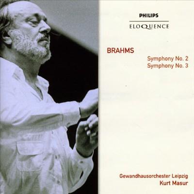 Brahms: Symphony No. 2; Symphony No. 3 [Australia]