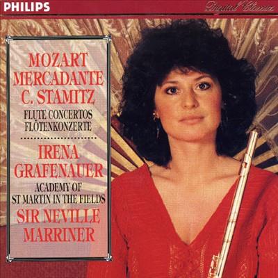 Mozart, Mercadante, Stamitz: Flute Concertos [Germany]