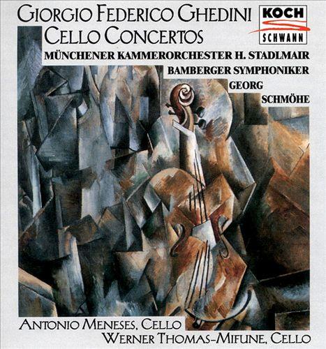 Giorgio Federico Ghedini: Cello Concertos