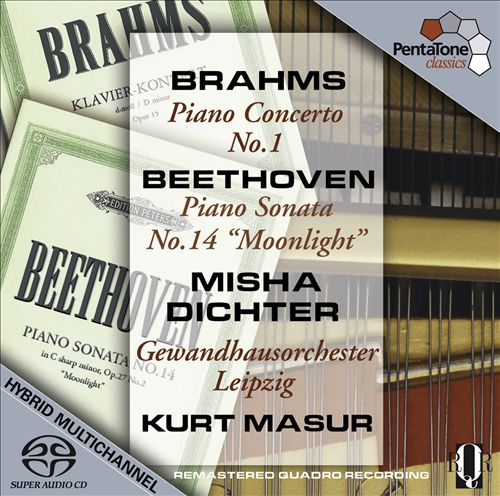 Brahms: Piano Concerto No. 1; Beethoven: Piano Sonata No. 14 'Moonlight'