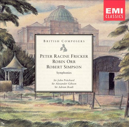 Fricker, Orr, Simpson: Symphonies