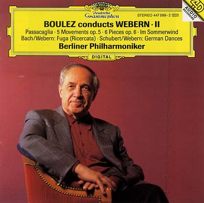 Boulez Conducts Webern, Vol. 2