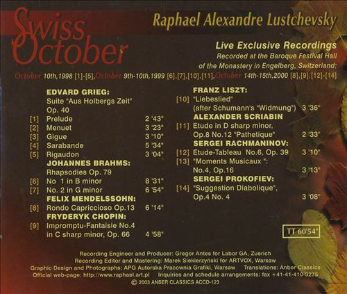 Swiss October