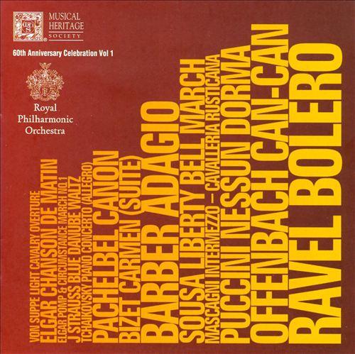 Royal Philharmonic Orchestra 60th Anniversary Celebration, Vol. 1