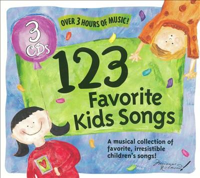 123 Favorite Kids Songs, Vol. 1-3