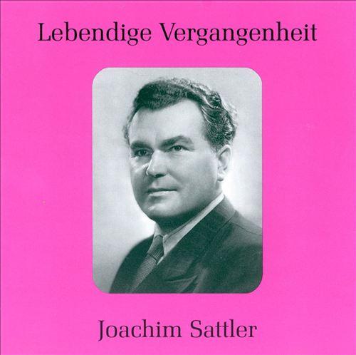 Lebendige Vergangenheit: Joachim Sattler