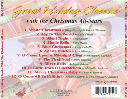 Great Holiday Classics with Christmas All-stars