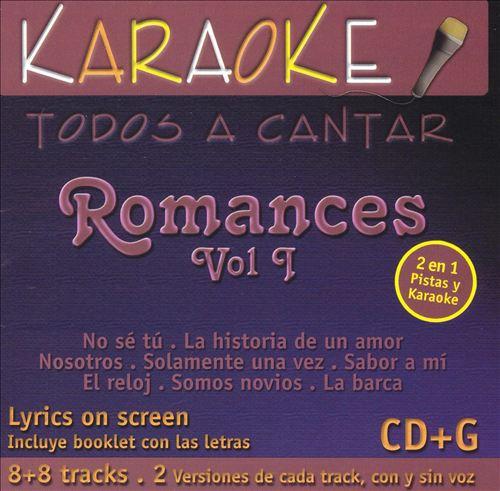 Todos A Cantar: Romances Vol. 1