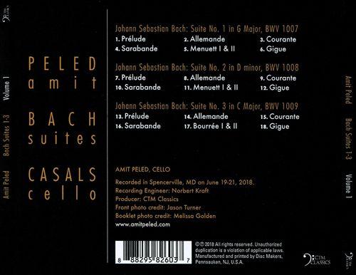Bach: Suites 1-3