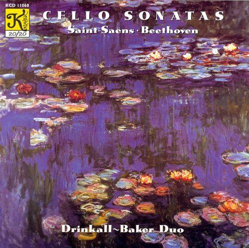 Saint-Saens & Beethoven: Cello Sonatas
