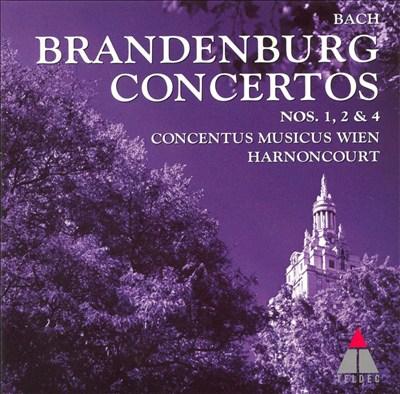 Bach: Brandenburg Concertos Nos. 1, 2, 4