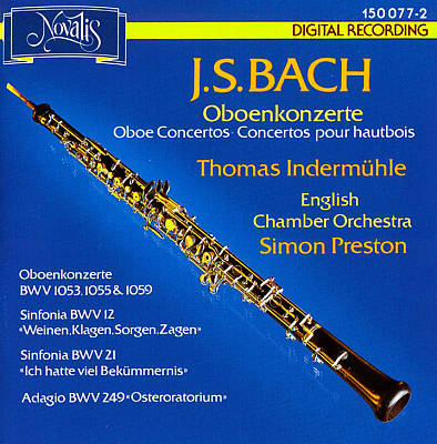 J.S. Bach: Oboenkonzerte