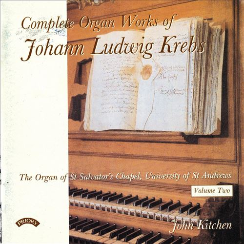 Complete Organ Works of Johann Ludwig Krebs, Vol. 2