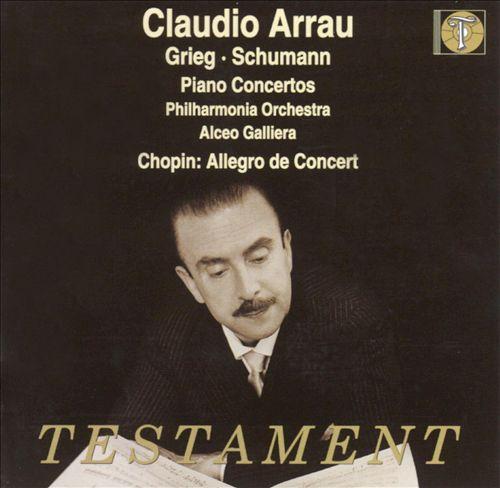 Grieg & Schumann: Piano Concertos; Chopin: Allegro de Concert